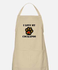 I Love My Cockapoo Apron