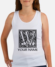 Custom Decorative Letter W Tank Top
