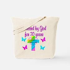 JOYFUL 70TH Tote Bag