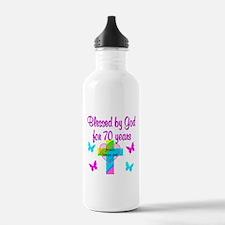 JOYFUL 70TH Water Bottle