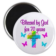 JOYFUL 70TH Magnet