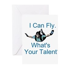 Skydiving Greeting Cards