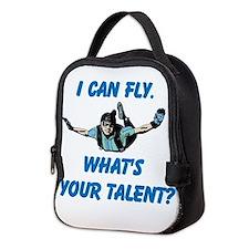 Skydiving Neoprene Lunch Bag
