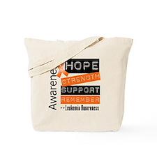 Leukemia Strength Tote Bag