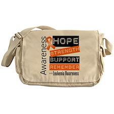 Leukemia Strength Messenger Bag