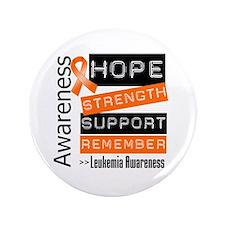 "Leukemia Strength 3.5"" Button (100 pack)"