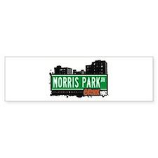 Morris Park Av, Bronx, NYC Bumper Bumper Sticker