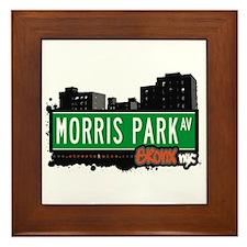 Morris Park Av, Bronx, NYC Framed Tile