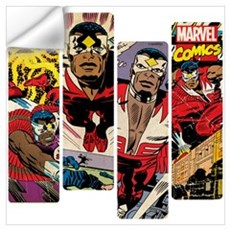 Falcon Comic Panel Wall Art Wall Decal