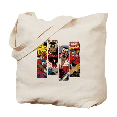 Falcon Comic Panel Tote Bag