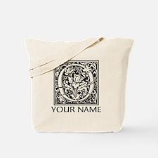 Custom Decorative Letter O Tote Bag