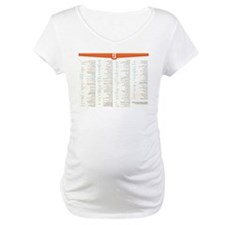 HTML5 Cheat Sheet Shirt