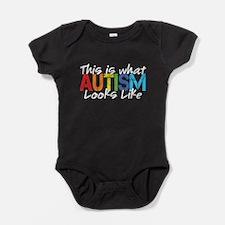 ThisIsWhatAutismLooksLike Baby Bodysuit