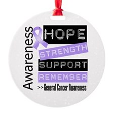 General Cancer Strength Ornament