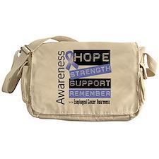 Esophageal Cancer Strength Messenger Bag