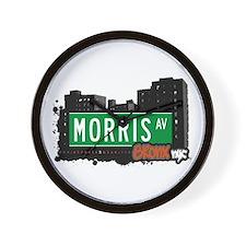 Morris Av, Bronx, NYC Wall Clock
