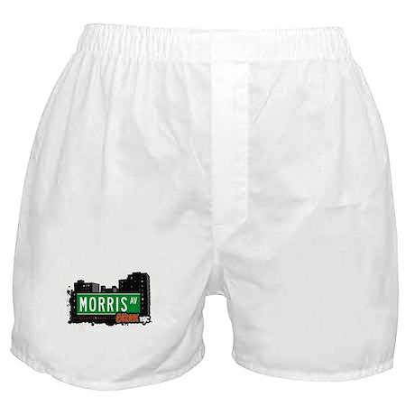 Morris Av, Bronx, NYC Boxer Shorts