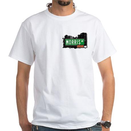 Morris Av, Bronx, NYC White T-Shirt
