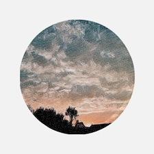 """fractal evening 3.5"""" Button (100 pack)"""