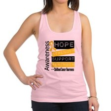 Childhood Cancer Strength Racerback Tank Top