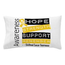 Childhood Cancer Strength Pillow Case