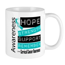 Cervical Cancer Strength Mug
