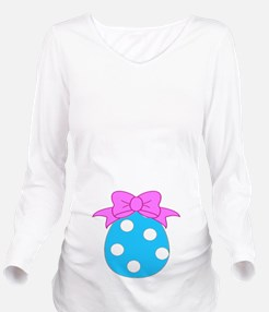 Easter Egg Baby Long Sleeve Maternity T-Shirt