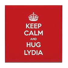 Hug Lydia Tile Coaster