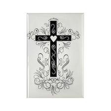 Flourish Cross Magnets