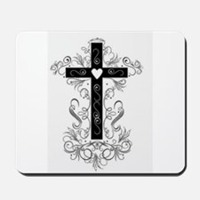 Flourish Cross Mousepad