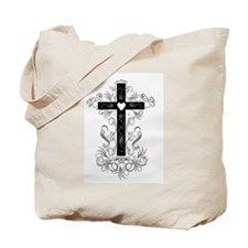 Flourish Cross Tote Bag