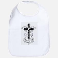 Flourish Cross Bib