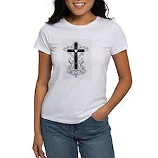 Flourish Cross T-Shirt