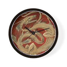 Vintage Dragon Wall Clock