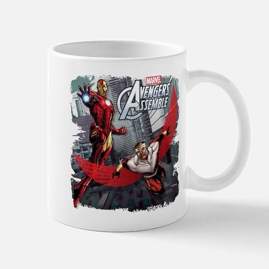 Falcon and Iron Man Mug