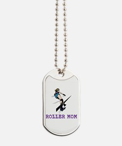 Roller Mom Dog Tags