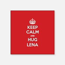 Hug Lena Sticker