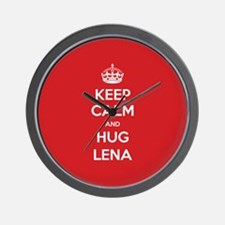 Hug Lena Wall Clock