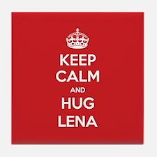Hug Lena Tile Coaster
