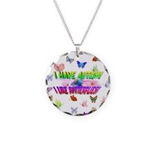I have autism like butterflies.jpg Necklace