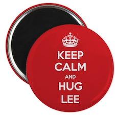 Hug Lee Magnets