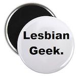 Lesbian Geek. Magnet