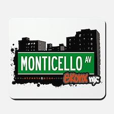 Monticello Av, Bronx, NYC Mousepad