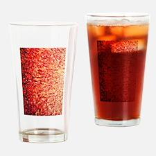 HypnoticSunrise rug Drinking Glass