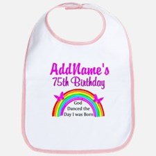75TH RAINBOW Bib