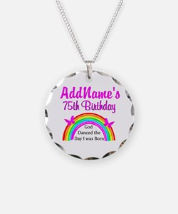 75TH RAINBOW Necklace
