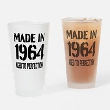 1964 Aged to perfection Drinking Glass