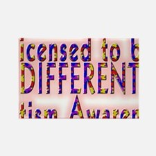 licensed to be different autism.png Magnets