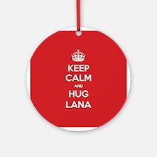 Hug Lana Ornament (Round)
