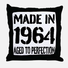 1964 Aged to perfection Throw Pillow